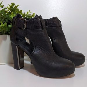 BCBG MaxAzria open side ankle boots